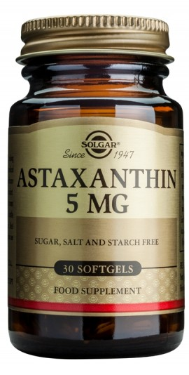 SOLGAR ASTAXANTHIN 5MG SOFTGELS 30CAPS