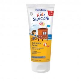 FREZYDERM Kids Sun Care SPF 50+, Παιδικό Αντηλιακό από 3+ ετών, 175ml