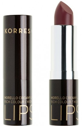KORRES Matte Lipstick NO34 Mocha Brown Ματ Kραγιόν με Kρεμώδη υφή, 3.5gr