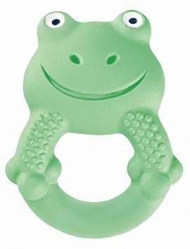 MAM Max, το βατραχάκι Τα Φιλαράκια Χειροποίητα Μασητικά Παιχνίδια από Φυσικό Latex για μωρά 4+ μηνών code 592 Green