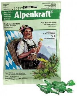 POWER HEALTH Alpenkraft Candies Καραμέλες για το Λαιμό, 75gr