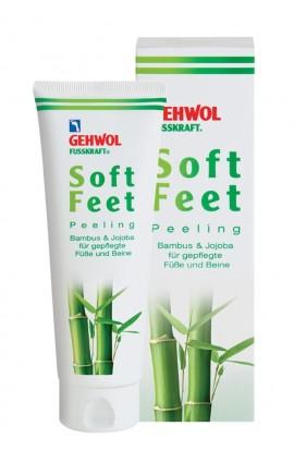 GEHWOL FUSSKRAFT Soft Feet Scrub 125ml, Απολεπιστική κρέμα για περιποιημένα πέλματα και γάμπες 1111207