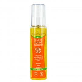 PHARMASEPT AID Tol Velvet Relief Massage Oil, Λάδι μασάζ εμπλουτισμένο με 10 φυτικά έλαια και φυσικά συστατικά, 100ml