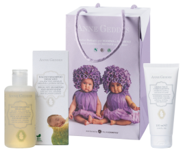 Anne Geddes Promo Pack 2 Mother and Child Delicate Shampoo & Body Bath 250ml + Soothing Facial & Body cream 100ml