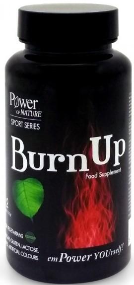POWER HEALTH Sport Series Burnup Συμπλήρωμα για την Ενίσχυση του Μεταβολισμού, 60Caps
