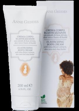 Anne Geddes Elasticizing Body Cream Βιολογική Κρέμα ελαστικότητας & πρόληψης Ραγάδων, 200ml