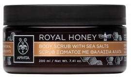 APIVITA Royal Honey Scrub Σώματος με Θυμαρίσιο Μέλι, 200ml