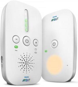 AVENT PHILIPS  Συσκευή παρακολούθησης μωρού DECT: εμβέλεια 300 μέτρων, φωτάκι νυκτός code SCD502/26