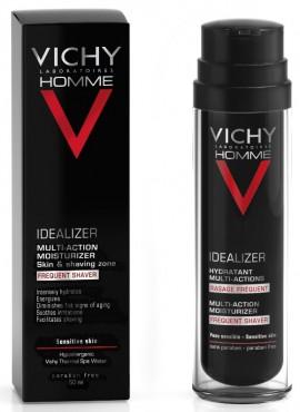 VICHY Idealizer Hydratant Multi Action Eνυδατική Κρέμα Προσώπου & Μετά το Ξύρισμα για Ευαίσθητες επιδερμίδες, 50ml