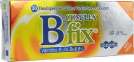 UNI-PHARMA B Complex Fix Συμπλήρωμα Διατροφής με Βιταμίνες Β, 30  Δισκία