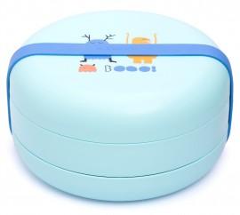 SUAVINEX Πιάτα φαγητού Βοοο!  Για Μωρά +4Μ Άθραυστο Χρώμα Σιελ-Μπλε εσωτερικά code 10303609