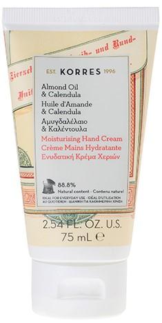 KORRES Ενυδατική Κρέμα Χεριών με Αμυγδαλέλαιο & Καλέντουλα, 75ml