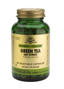 SOLGAR Green Tea Leaf Extract, 60Veg.Caps