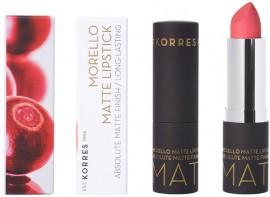 KORRES Morello Lipstick Matte NO49 Watemelon Sorbet, 3.5gr