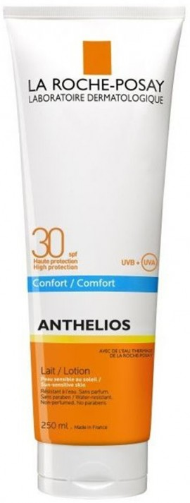 LA ROCHE-POSAY Anthelios Lait SPF30 Γαλάκτωμα υψηλής αντηλιακής προστασίας, 250ml