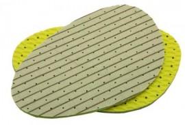SANIT  Μισό πατάκι χλωροφύλλης με αντιολισθητική βάση από λατέξ, Νο 39/ 40 κωδικός: 15505001