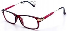 Opticmo Γυαλιά πρεσβυωπίας CBO-B200 Κόκκινο, σε προστατευτική θήκη PVC