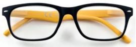 Zippo Γυαλιά Πρεσβυωπίας σε χρώμα Μαύρο με κίτρινους βραχίονες code: 31Z-B3-YEL (1 τεμάχιο)