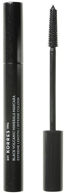 KORRES Volcanic Minerals Professional Length Mascara NO01 Μαύρο, 7.50ml
