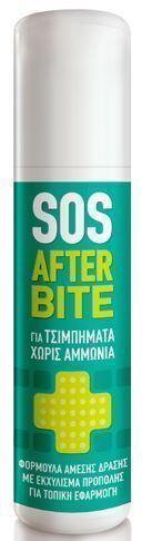 PHARMASEPT SOS After bite Roll-on, Τζελ για τσιμπήματα χωρίς αμμωνία, για περιποίηση της πάσχουσας περιοχής, 15 ml