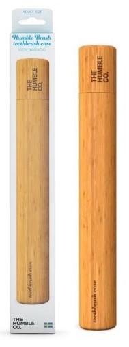 The Humble Toothbrush Case θήκη οδοντόβουρτσας από βιοδιασπώμενο Bamboo Ενηλίκων, 1 τεμάχιο