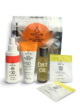 YOUTH LAB Sun & After Sun Summer Set Αντιηλιακή Κρέμα Προσώπου για κανονικό/ξηρό δέρμα Spf 50, 50ml, Αντιηλιακό Γαλάκτωμα Προσώπου και Σώματος Spf 30, …