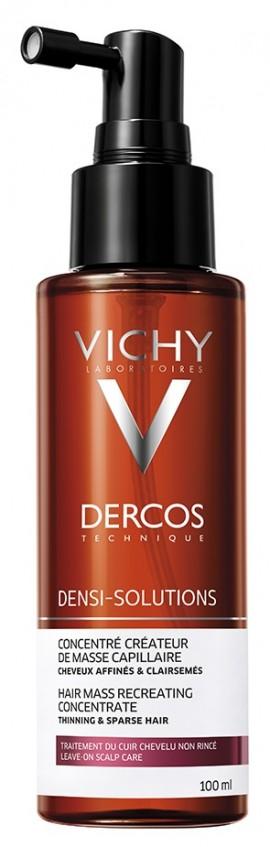VICHY Dercos Densi Solutions - Hair Mass Creator Κρέμα/Λοσιόν σε Μορφή Σπρέυ για Δημιουργία Όγκου/Πυκνότητας για Λεπτά και Αραιά Μαλλιά, 100ml