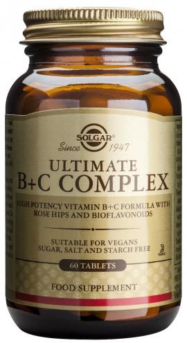SOLGAR ULTIMATE B+C COMPLEX 60TAB