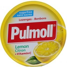 PULMOLL Καραμέλες Χωρίς Ζάχαρη με Λεμόνι, 50gr
