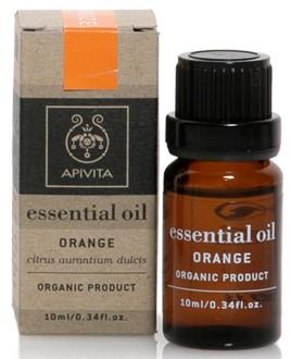APIVITA Βιολογικό Αιθέριο Έλαιο με Πορτοκάλι, 10ml