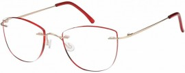 Omnia Vision Γυαλιά Πρεσβυωπίας χωρίς πλαίσιο σκελετου code: RG-271 red ( 1 τμχ)