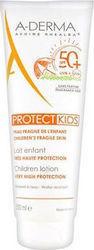 A-DERMA, Protect  kids Lait Enfant SPF50, Παιδικό αντηλιακό για πρόσωπο και σώμα,  250ml