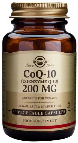SOLGAR COENZYME Q10 200MG 30VCAP