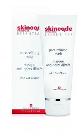 SKINCODE Essentials Pore refining mask, Mάσκα σύσφιξης πόρων και μείωσης λιπαρότητας,  75ml
