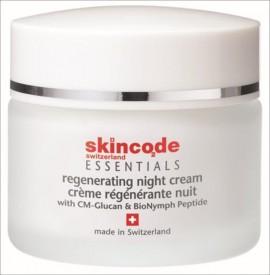 SKINCODE Regenarating Night Cream,  Θρεπτική, αναζωογονητική κρέμα νύχτας, 50ml