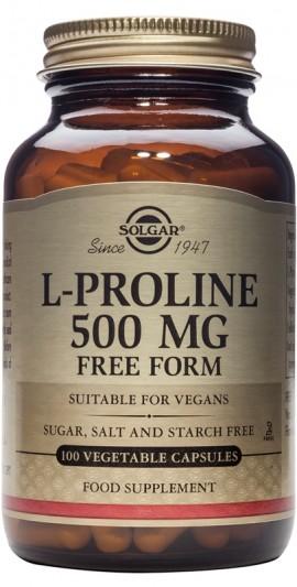 SOLGAR L-PROLINE 500MG 100VCAP
