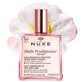 NUXE Huile Prodigieuse Florale, Ξηρό λάδι για πρόσωπο,σώμα & μαλλιά, 100ml