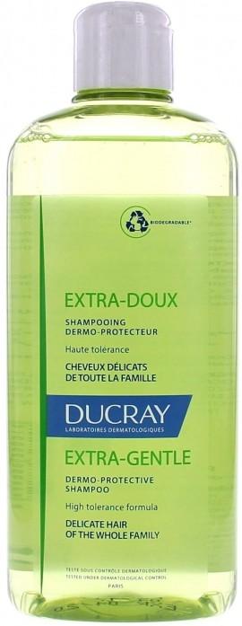 DUCRAY, Extra-Doux Shampoo , Απαλό σαμπουάν για συχνή χρήση, 200 ml
