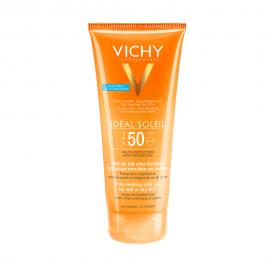 VICHY Ideal Soleil Milk-Gel Wet Skin Technology SPF50 Εξτρα Απαλό Αντηλιακό Γαλάκτωμα-Gel, 200ml