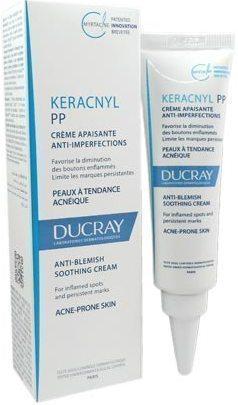 DUCRAY,  Keracnyl PP Crème,  Kαταπραϋντική Κρέμα κατά των ατελειών σε δέρμα με τάση ακμής, 30ml