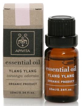 APIVITA Βιολογικό Αιθέριο Έλαιο με Ylang Ylang, 10ml