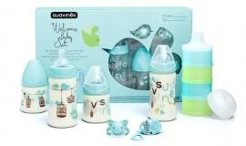 SUAVINEX Σετ Welcome baby BOY δώρο για το νεογέννητο αγοράκι, code 10301704 (Σετ 7 τεμαχίων)
