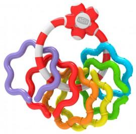 CHICCO Χρωματιστοί Δακτύλιοι σαν Κουδουνίστρα Ηλικίας 3+ Μ Διεγείρει τις Κινητικές Ικανότητες 1τμχ code 05954
