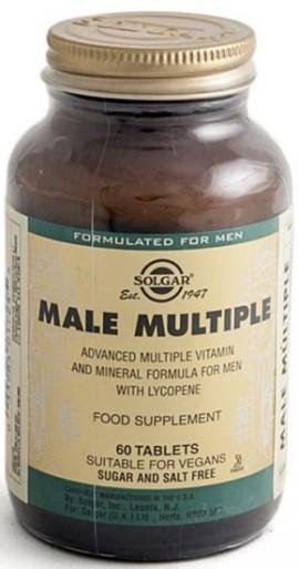 SOLGAR Male Multiple, 60Tabs