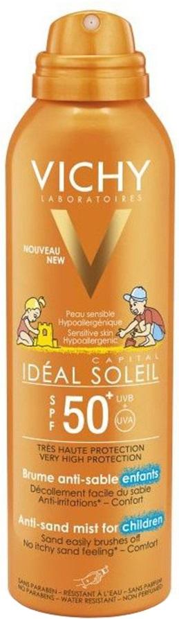 VICHY Ideal Soleil Anti-Sand Kids Sun Protection SPF50+ Παιδικό Spray Κατά της Άμμου, 200ml