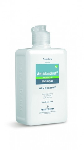 FREZYDERM Antidandruff Shampoo, Σαμπουάν κατά της λιπαρής πιτυρίδας, 200ml
