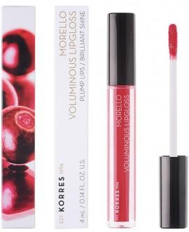 KORRES Morello Voluminous Lip Gloss NO19 Watermelon Γεμάτα Xείλη & Λαμπερό Αποτέλεσμα, 4ml