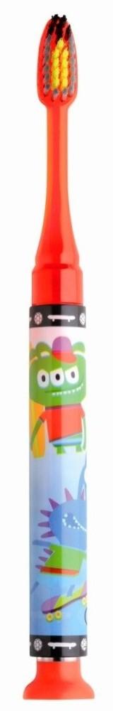 GUM 903  Junior Light-Up Red Soft Παιδική Οδοντόβουρτσα Κόκκινη φωτιζόμενη Μαλακή για ηλικίες 7-9 ετών