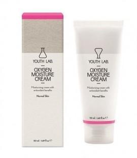 YOUTH LAB Oxygen Moisture Cream Normal Skin 24ωρη Eνυδατική κρέμα με αντιοξειδωτική δράση για κανονικό δέρμα, 50ml
