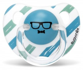 SUAVINEX Ανατομική Πιπίλα Σιλικόνης  AS YOU 0-6 M Χρώμα Μπλε